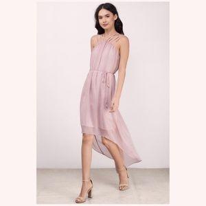Tobi Heart Strings Maxi Dress High Low Size M